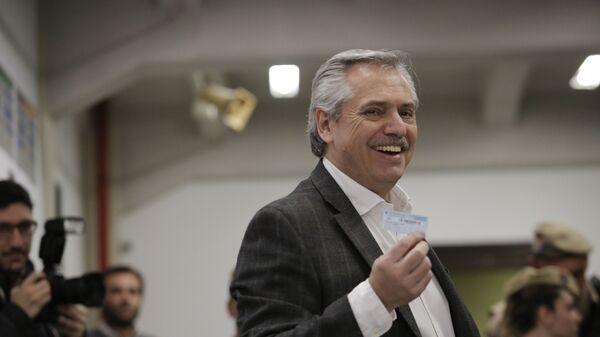 Alberto Fernández, precandidato presidencial argentino - Sputnik Mundo