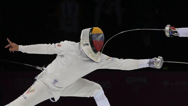 Rubén Limardo, campeón panamericano de la esgrima - Sputnik Mundo