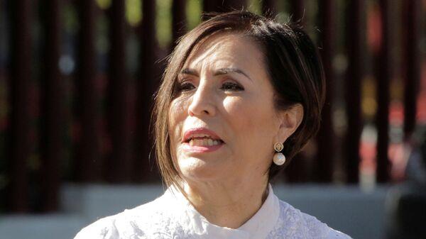 Rosario Robles, la extitular de las carteras de Desarrollo Social y Desarrollo Agrario - Sputnik Mundo