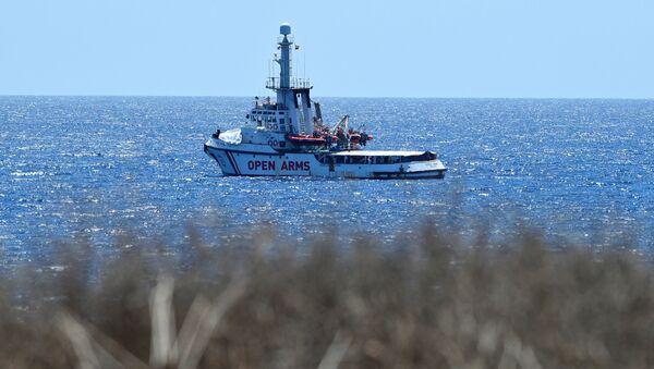 Barco de rescate Open Arms - Sputnik Mundo