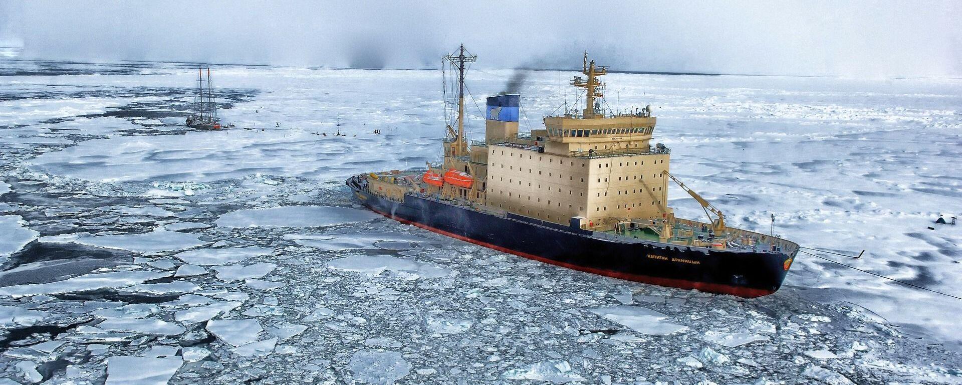 El Ártico (imagen referencial) - Sputnik Mundo, 1920, 11.06.2021