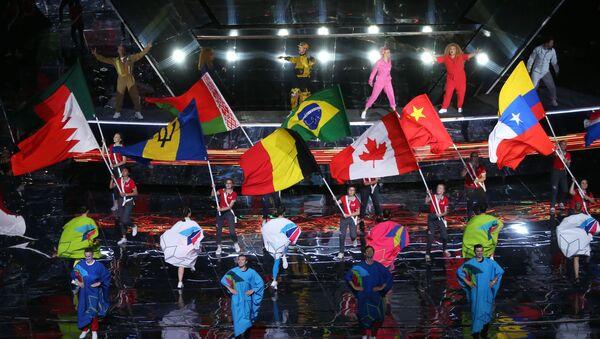 Ceremonia de inauguración de World Skills Kazán 2019 - Sputnik Mundo