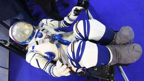 El nuevo traje espacial Sokol-M - Sputnik Mundo