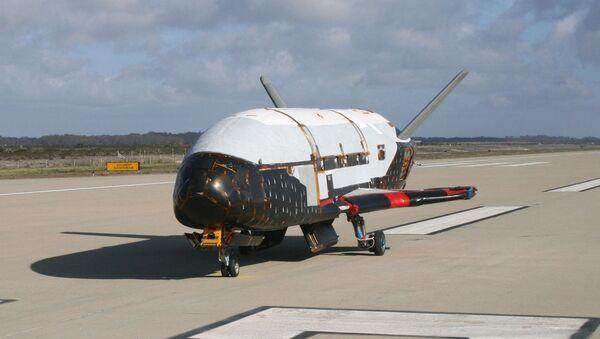 La aeronave espacial X-37B (imagen referencial) - Sputnik Mundo