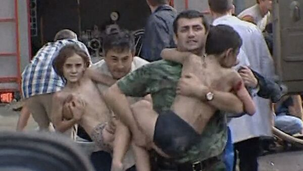 A 15 años del mortífero asedio terrorista a una escuela en Beslán - Sputnik Mundo
