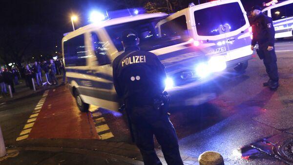Policía en Hannover (Archivo) - Sputnik Mundo