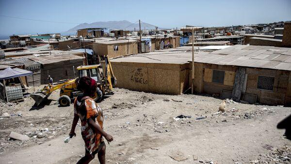 Asentamientos precarios en Chile (Archivo) - Sputnik Mundo