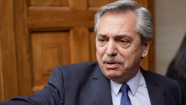 Alberto Fernández, el líder de la oposición en Argentina - Sputnik Mundo