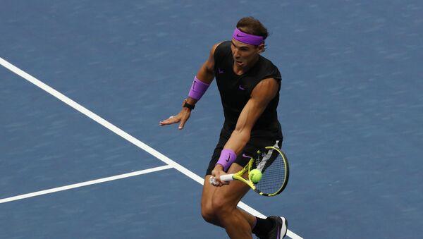 Rafael Nadal en la final de US Open 2019 - Sputnik Mundo