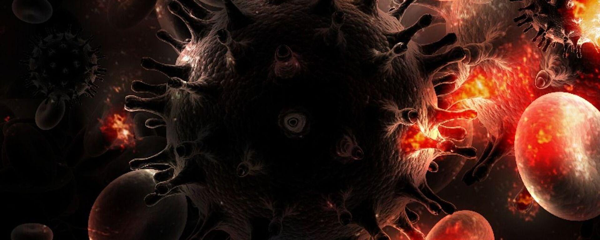 El virus VIH - Sputnik Mundo, 1920, 25.08.2021