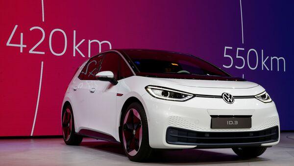 Coche eléctrico ID.3 de Volkswagen - Sputnik Mundo