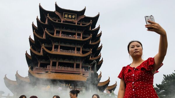 Turistas chinos (imagen referencial) - Sputnik Mundo