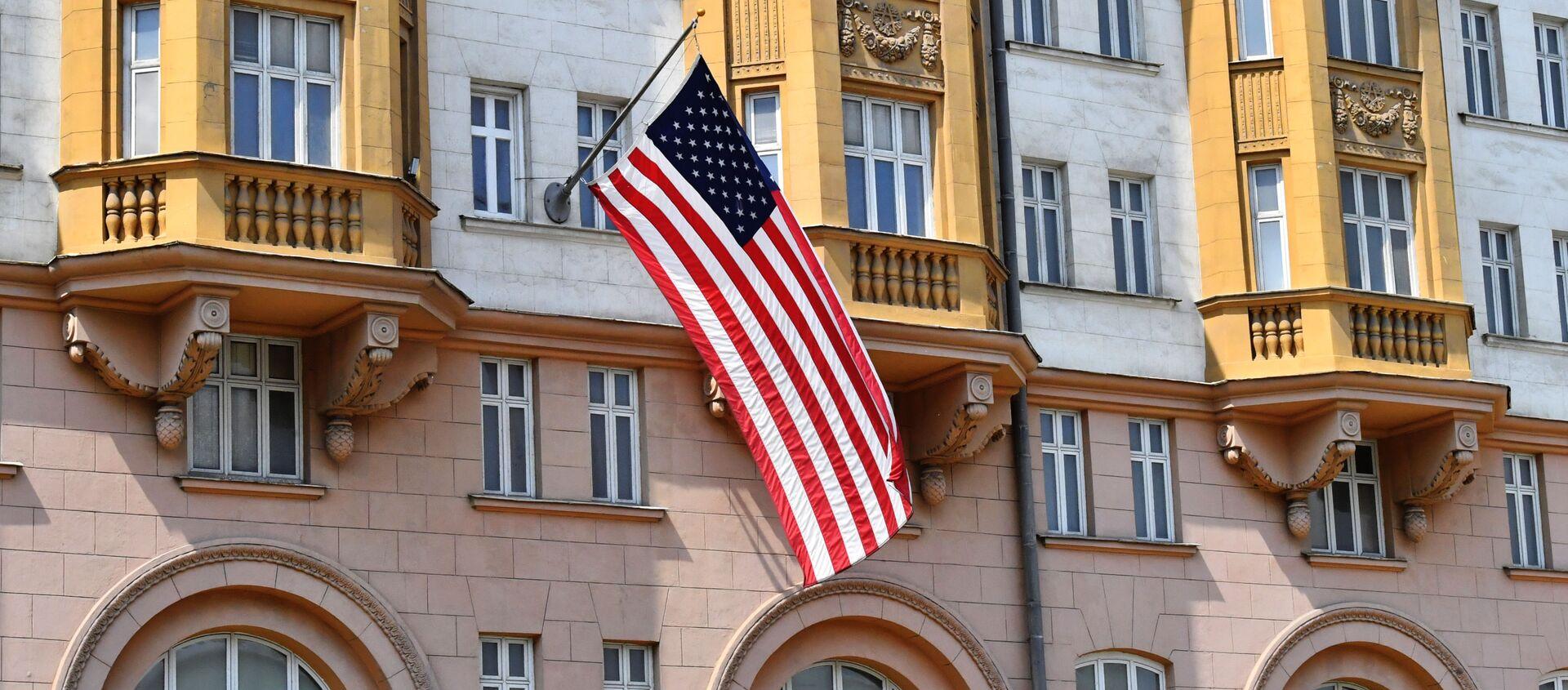 La Embajada de EEUU en Moscú - Sputnik Mundo, 1920, 27.01.2021