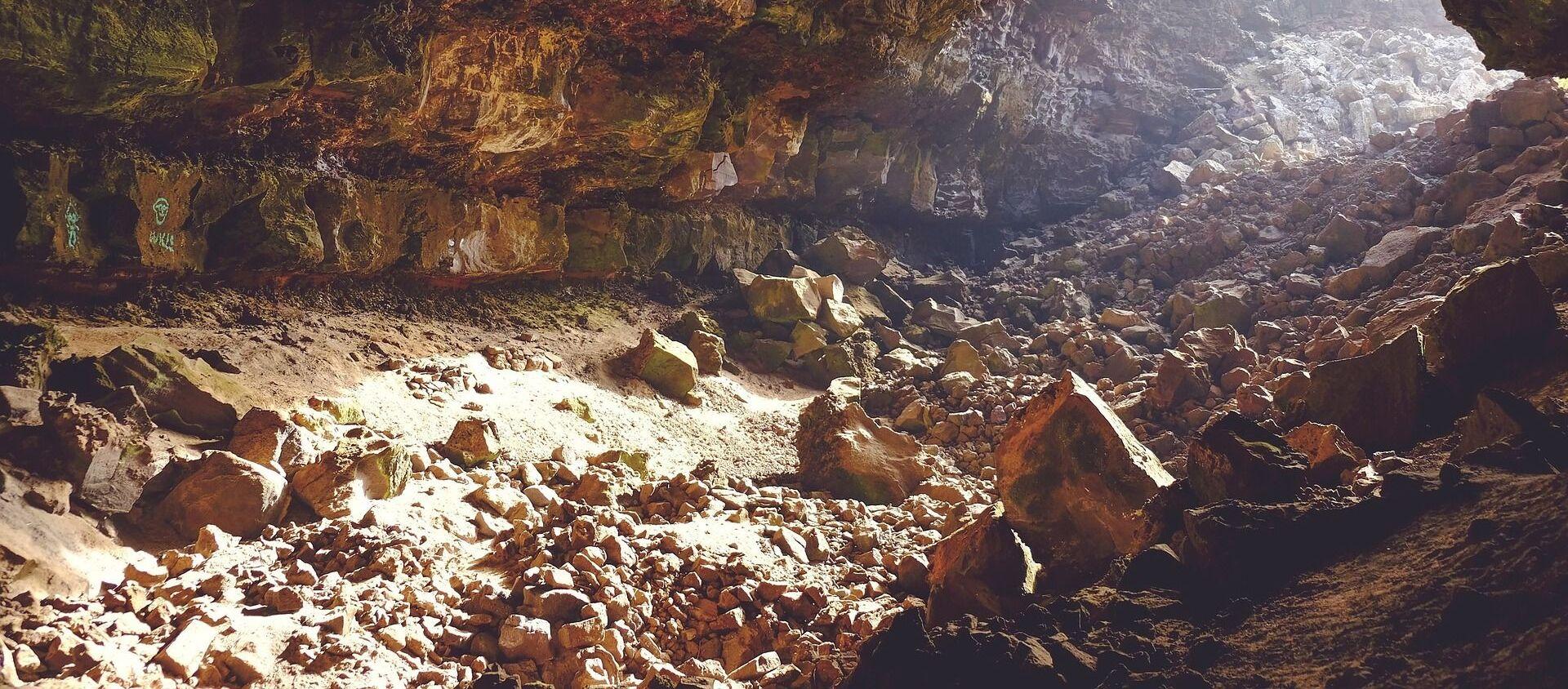Una cueva (imagen referencial)  - Sputnik Mundo, 1920, 12.02.2020