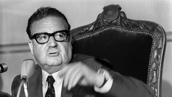 Salvador Allende, expresidente de Chile - Sputnik Mundo