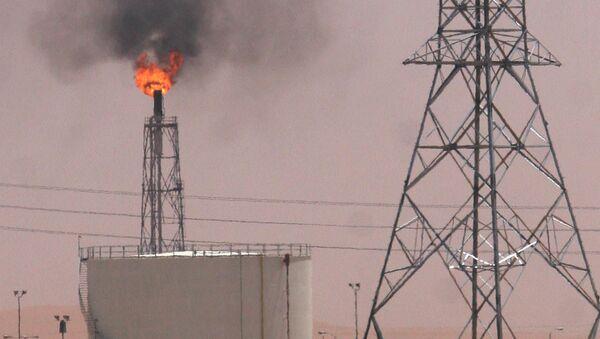 Una refinería saudí en Khurais - Sputnik Mundo