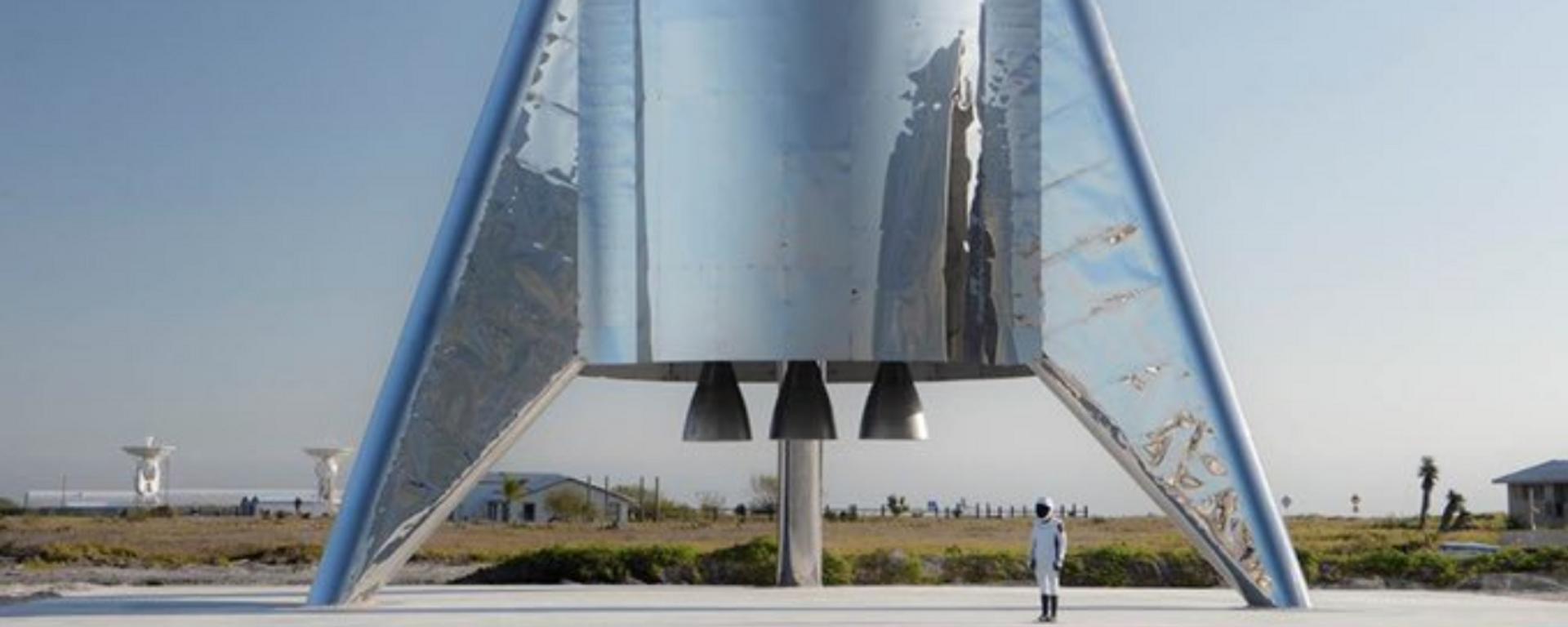 El cohete de SpaceX Starship - Sputnik Mundo, 1920, 29.03.2021