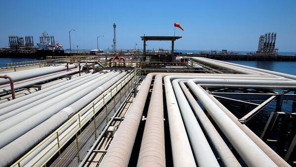 La refinería Saudi Aramcro (archivo) - Sputnik Mundo
