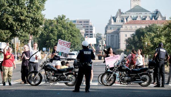 Manifestación por el cambio climático en Washington - Sputnik Mundo