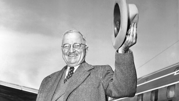 Harry Truman, expresidente de EEUU - Sputnik Mundo