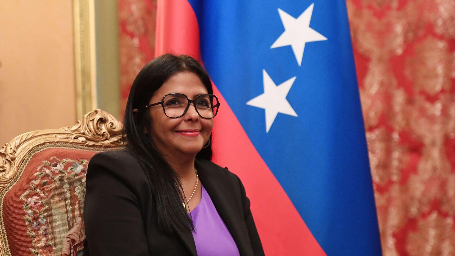Delcy Rodríguez, vicepresidenta de Venezuela - Sputnik Mundo, 1920, 27.09.2021