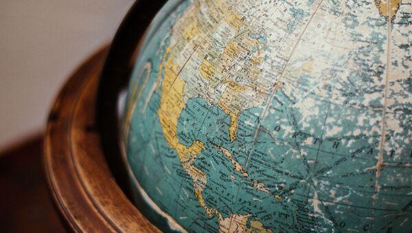 Mapa de México y EEUU - Sputnik Mundo