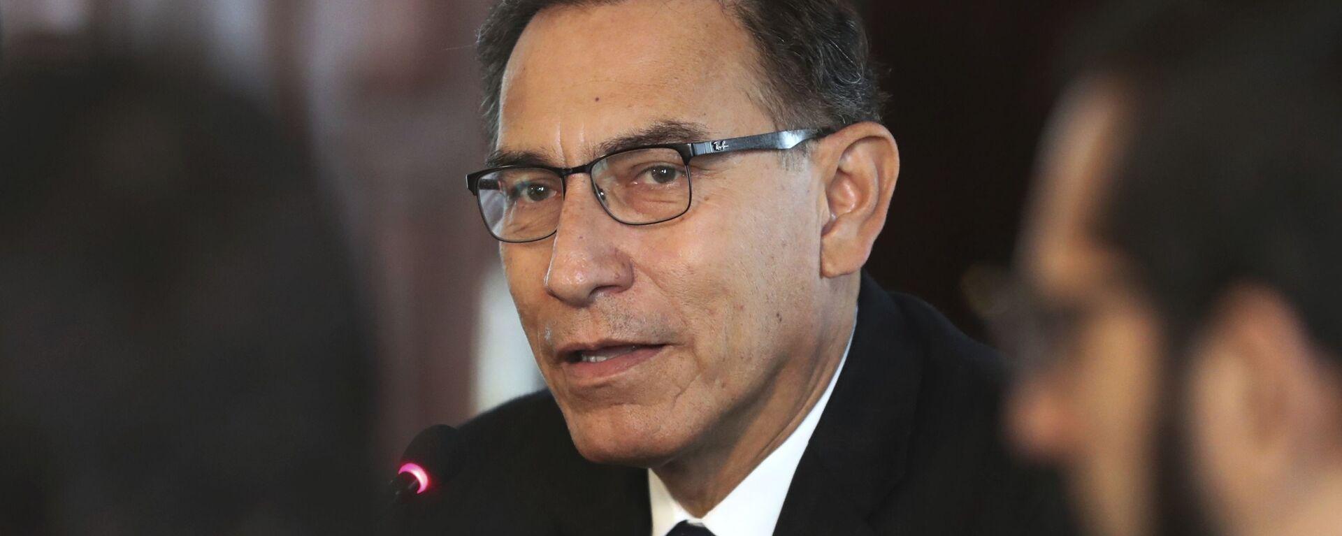 Martín Vizcarra, presidente de Perú - Sputnik Mundo, 1920, 13.02.2021