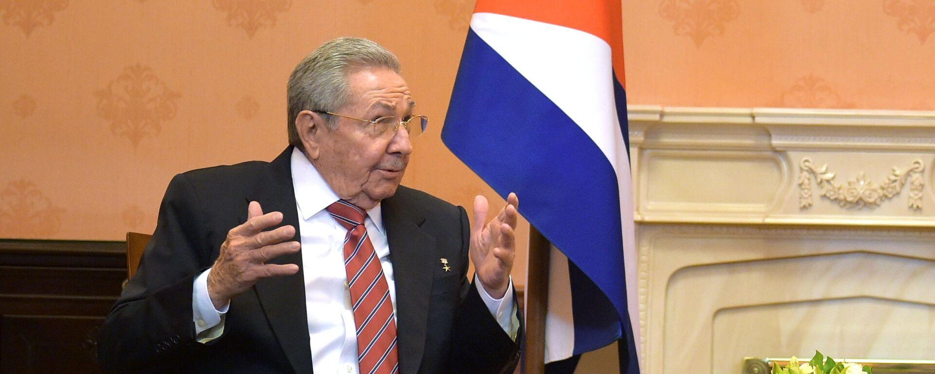 Raúl Castro, expresidente de Cuba - Sputnik Mundo, 1920, 03.06.2021