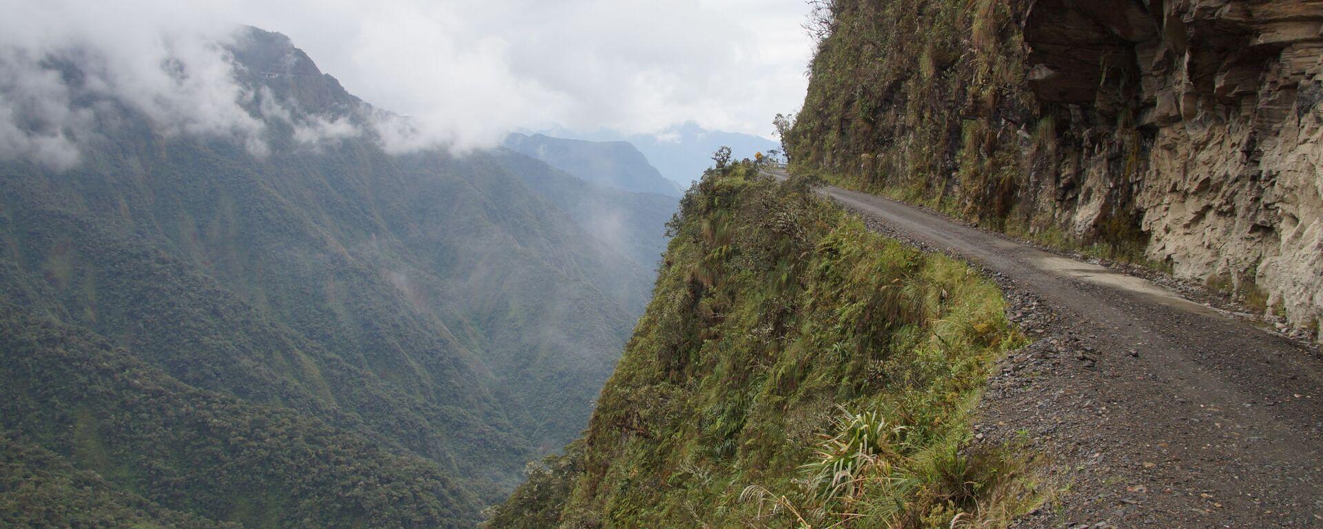 Carretera boliviana (imagen referencial) - Sputnik Mundo, 1920, 17.03.2021
