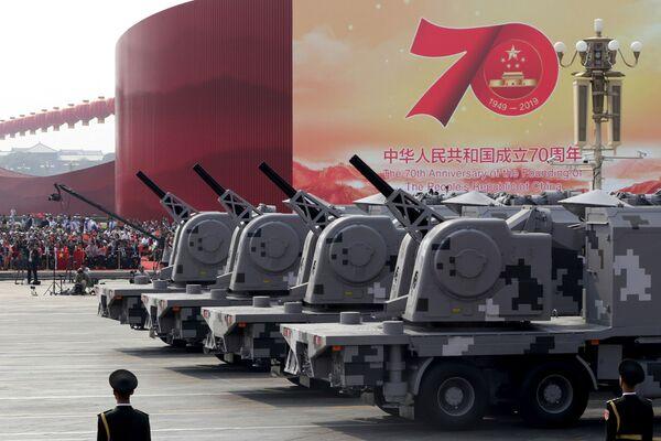 Aniversario 70 del fin de la revolución que dio origen al nacimiento de la República Popular China - Sputnik Mundo