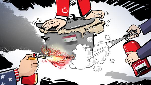 La receta que detendrá el flujo de emigrantes de la 'caldera' siria  - Sputnik Mundo
