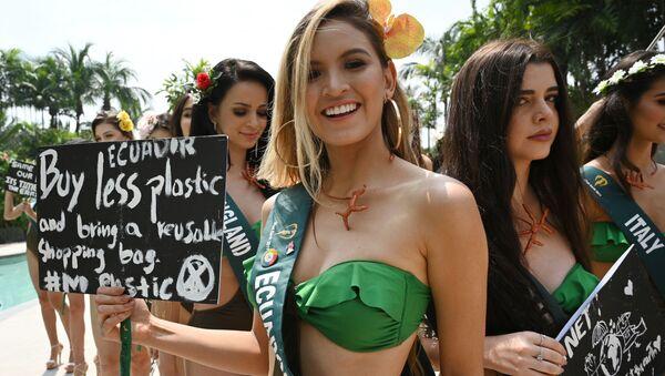 Miss Tierra 2019: la belleza se pone de parte de la naturaleza  - Sputnik Mundo
