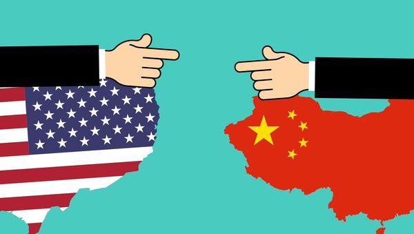 La guerra comercial de China y EEUU (imagen referencial) - Sputnik Mundo