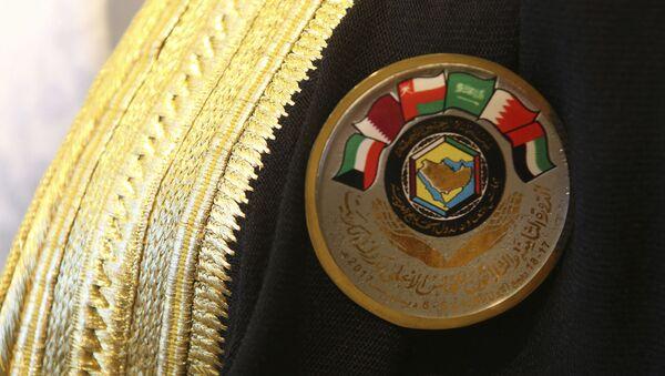 El logo de los Estados Árabes del Golfo - Sputnik Mundo