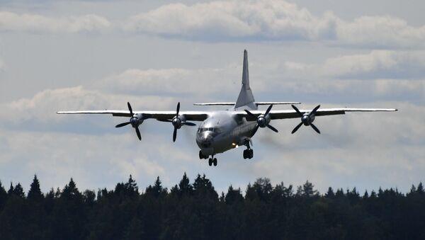 Avión An-12 - Sputnik Mundo