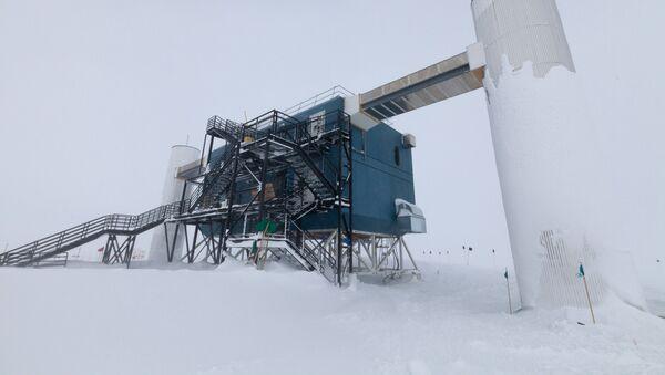 El laboratorio IceCube en la Antártida (archivo) - Sputnik Mundo