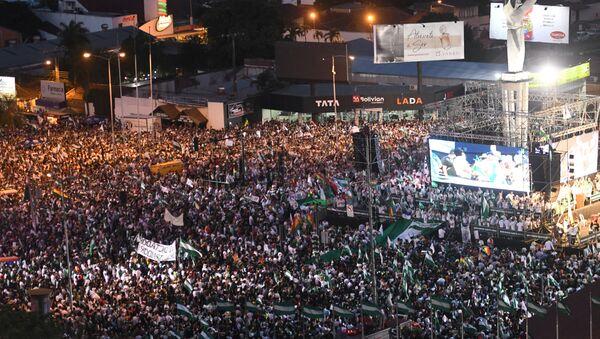Cabildo cívico-político en Santa Cruz contra la repostulación de Evo Morales - Sputnik Mundo