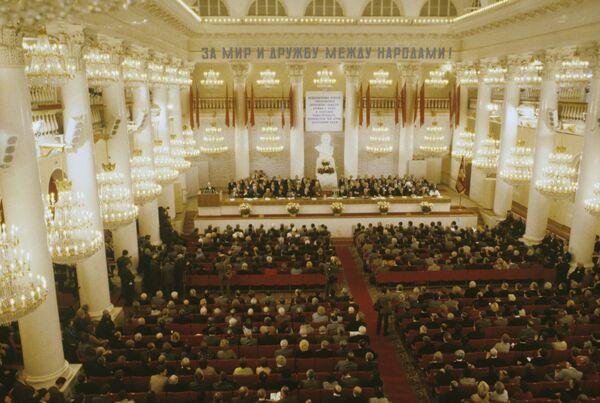 Encuentro internacional de supervisores de sociedades extranjeras de amistad con la URSS - Sputnik Mundo