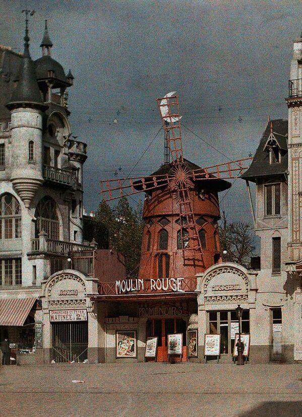 The Moulin Rouge, Paris in color 1914 - Sputnik Mundo