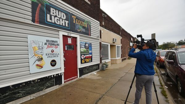 Bar 'Tequila' en Kansas City donde se produjo el tiroteo - Sputnik Mundo