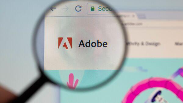Logo de Adobe - Sputnik Mundo