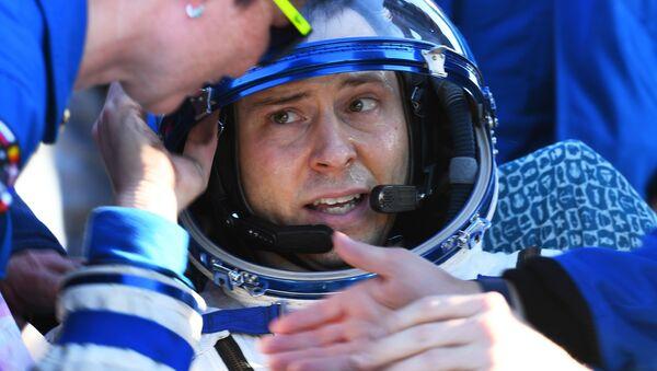 El astronauta estadounidense Nick Hague - Sputnik Mundo