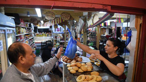 El Mercado Latino de Seven Sisters en Londres - Sputnik Mundo
