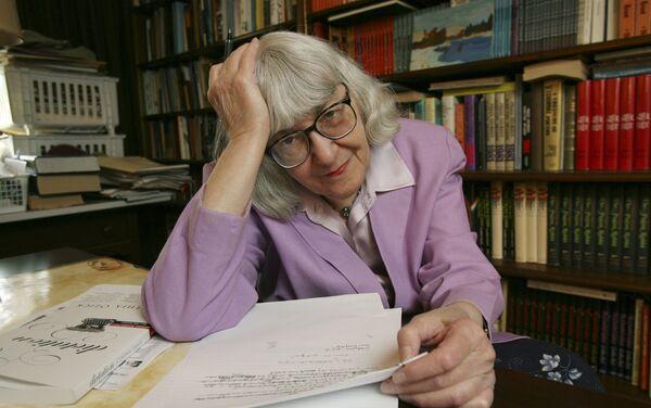 Cynthia Ozick, la escritora, crítica literaria y catedrática estadounidense - Sputnik Mundo