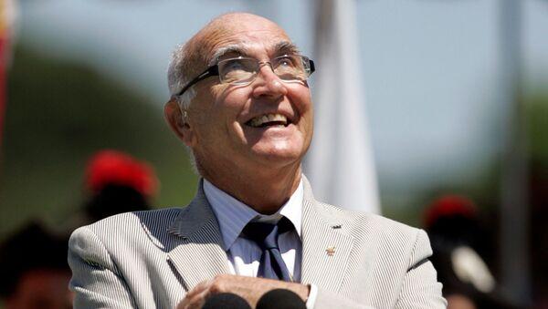 Andrés Gimeno, tenista español y miembro del Salón Internacional de la Fama del Tenis - Sputnik Mundo