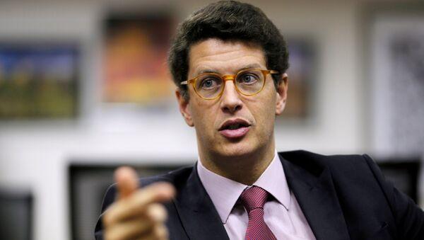 Ricardo Salles, el ministro de Medio Ambiente de Brasil - Sputnik Mundo