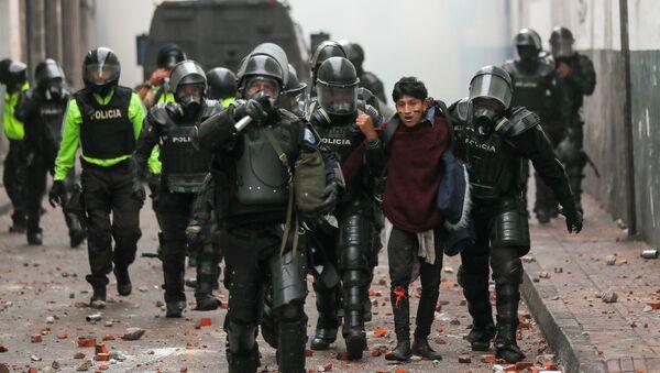 Fuerzas de seguridad de Ecuador - Sputnik Mundo