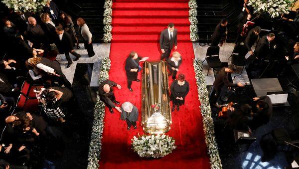 Homenaje del cantante José José en el Palacio de Bellas Artes - Sputnik Mundo