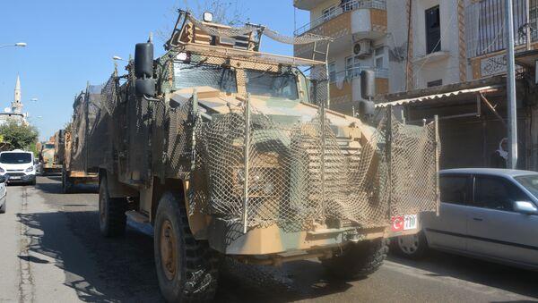 La operación turca Fuente de Paz en el noreste de Siria - Sputnik Mundo