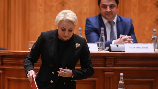 Viorica Dancila, primera ministra de Rumanía - Sputnik Mundo